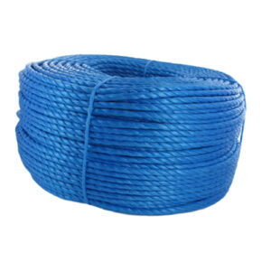 BluePolyPolypropyleneRopeHardWearingMiniCoils