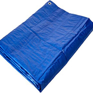 Waterproof MultipurposeBlueTarpaulin100gsmLightweightTarpaulinCovers
